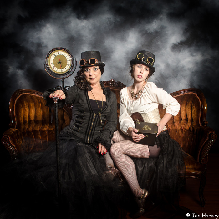Steampunk Queens Jon Harvey