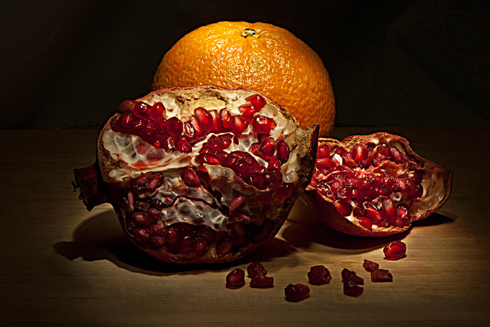 Pomegranite & Orange